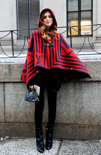 abrigo poncho