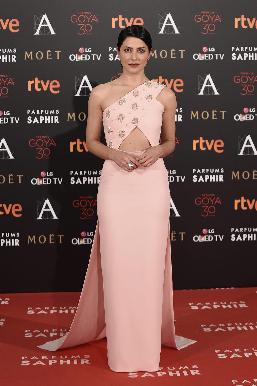Bárbara Lennie alfombra roja gala goya 2016