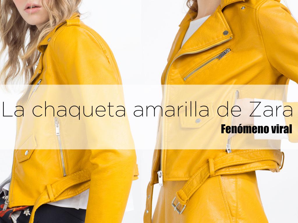 La Chaqueta Amarilla De Zara